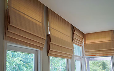 Roman Blinds from Blinds by Design